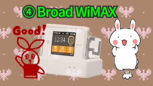 ④Broad WiMAX