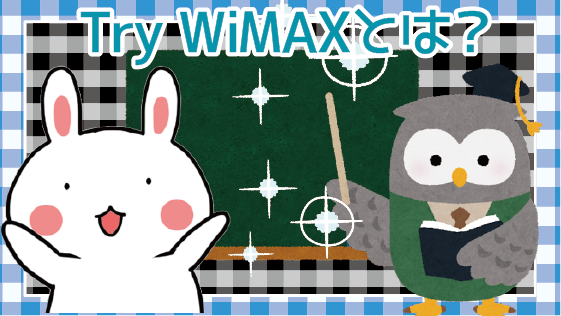 Try WiMAXとは?