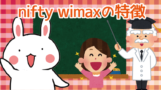 nifty wimaxの特徴