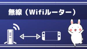 無線(Wifiルーター)